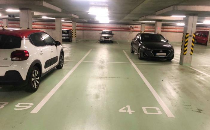 Parkovacie miesto v podzemnej garáži, Uzbecká ul., Bratislava Podunajské Biskupice