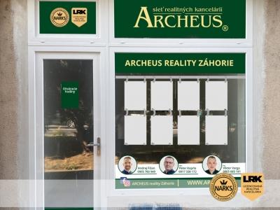 ARCHEUS reality Záhorie