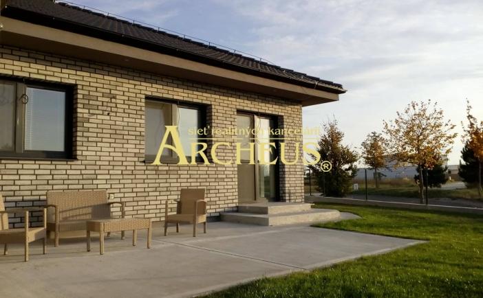 TOP novostavba, nádherné výhľady, 5 izbový rodinný dom v Hrubej Borši, Senec