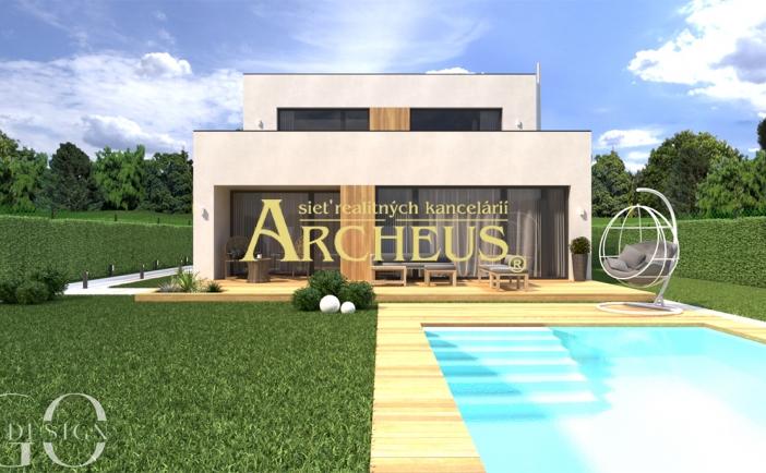 Ideálna voľba pre celoročné aj víkendové bývanie 4-izbový rodinný dom v uzavretom areáli, Hrubá Borša